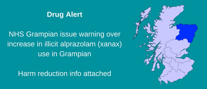 Drug Alert Issued In Grampian Over Increasing Illicit Xanax Use