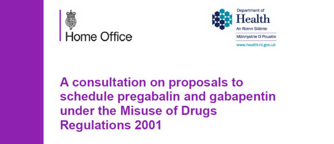 Consultation on proposal to schedule pregabalin and